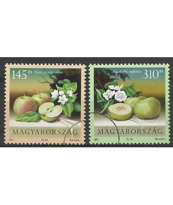 Węgry 2011 Mi 5525-5526 Czyste **
