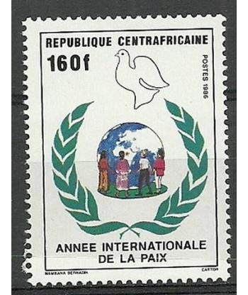 Republika Środkowoafrykańska 1986 Mi 1249 Czyste **