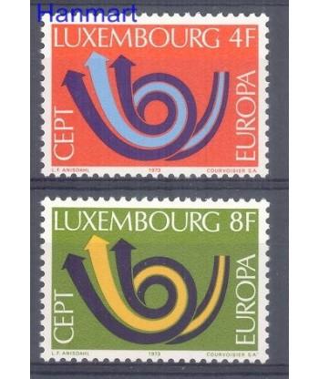 Luksemburg 1973 Mi 862-863 Czyste **