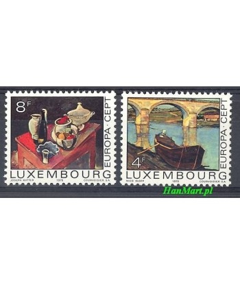 Luksemburg 1975 Mi 904-905 Czyste **