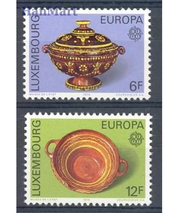 Luksemburg 1976 Mi 928-929 Czyste **