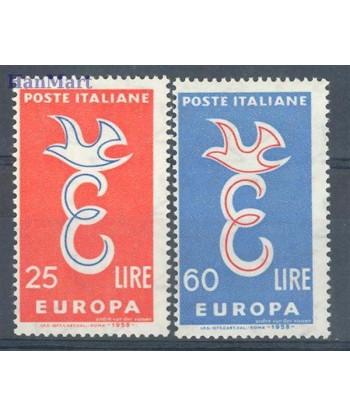 Włochy 1958 Mi 1016-1017 Czyste **