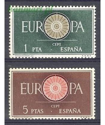 Hiszpania 1960 Mi 1189-1190 Czyste **