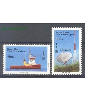 Cypr Turecki 1988 Mi 223-224 Czyste **