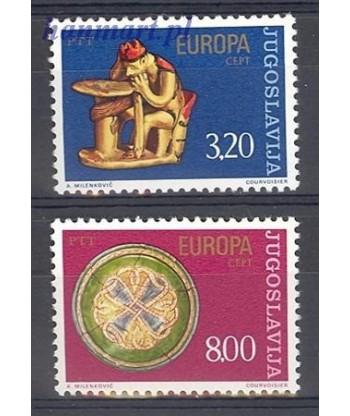 Jugosławia 1976 Mi 1635-1636 Czyste **