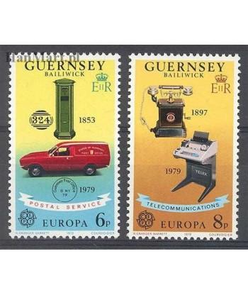 Guernsey 1979 Mi 189-190 Czyste **