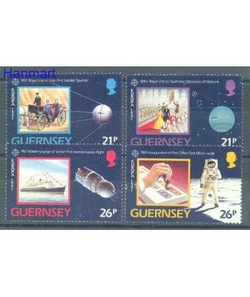 Guernsey 1991 Mi 518-521 Czyste **