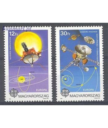 Węgry 1991 Mi 4133-4134 Czyste **