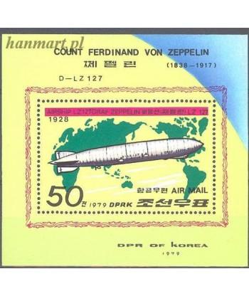 Korea Północna 1979 Mi bl 55 Czyste **