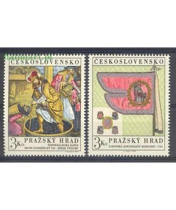 Czechosłowacja 1969 Mi 1876-1877 Czyste **