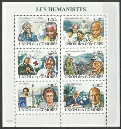 Comoros 2009 Mi ark 1974-1979 MNH
