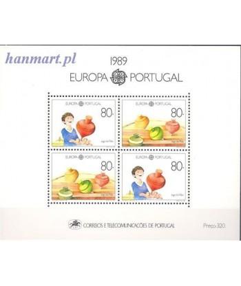 Portugalia 1989 Mi bl 64 Czyste **