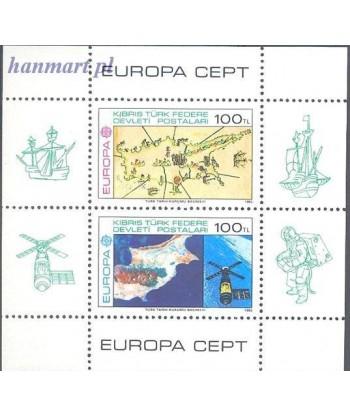 Cypr Turecki 1983 Mi bl 4 Czyste **