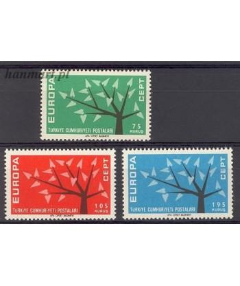 Turcja 1962 Mi 1843-1845 Czyste **