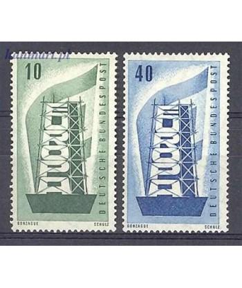 Niemcy 1956 Mi 241-242 Czyste **