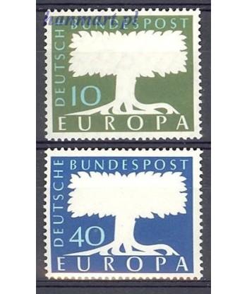 Niemcy 1957 Mi 268-269 Czyste **