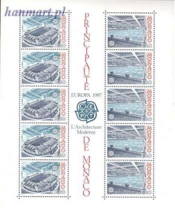 Monako 1987 Mi bl 35 Czyste **