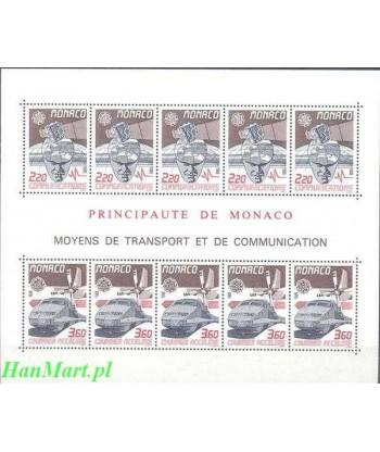Monako 1988 Mi bl 39 Czyste **