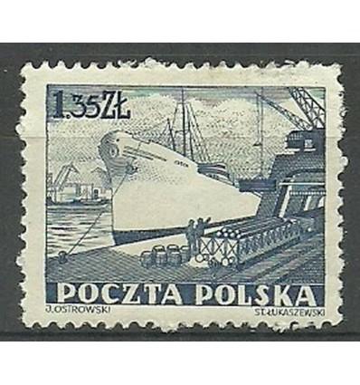 Polska 1953 Mi 808 Fi 670 Czyste **
