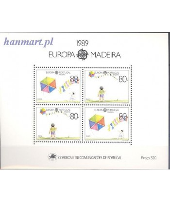 Madeira 1989 Mi bl 10 Czyste **