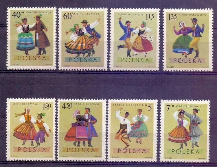 Polska 1969 Mi 1951-1958 Fi 1804-1811...