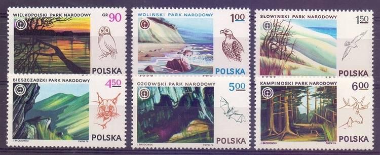 Poland 1976 Mi 2445-2450 MNH