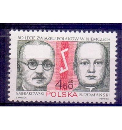 Polska 1982 Mi 2815 Fi 2667 Czyste **