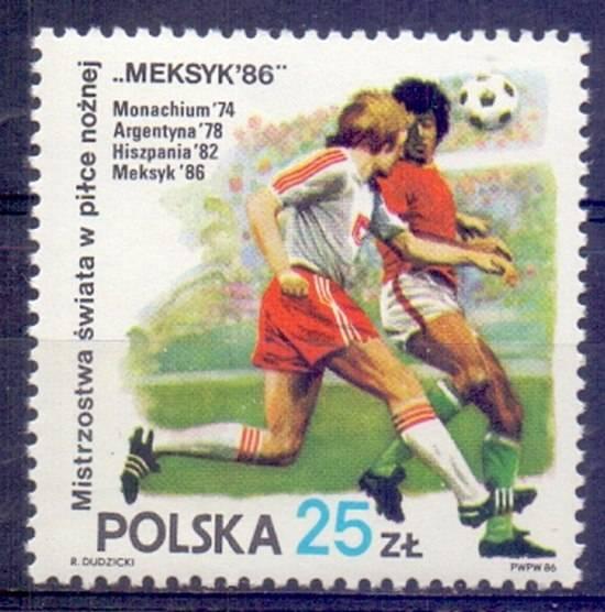 Polska 1986 Mi 3028 Fi 2880 Czyste **