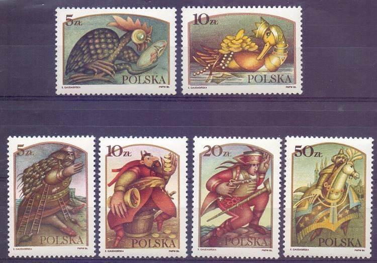 Poland 1986 Mi 3052-3057 MNH