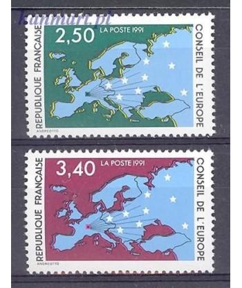 Francja 1991 Mi 49-50 Czyste **