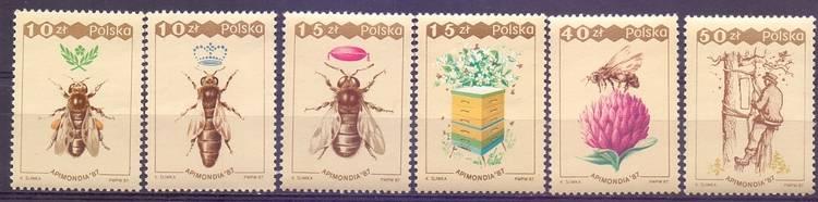 Polska 1987 Mi 3106-3111 Fi 2958-2963...
