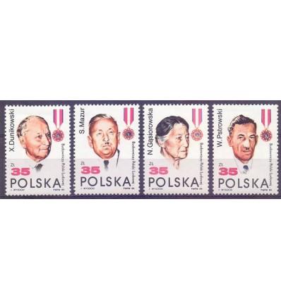 Polska 1989 Mi 3207-3210 Fi 3058-3061...