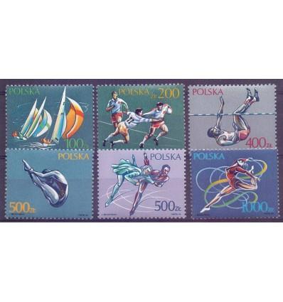 Poland 1990 Mi 3258-3263 MNH