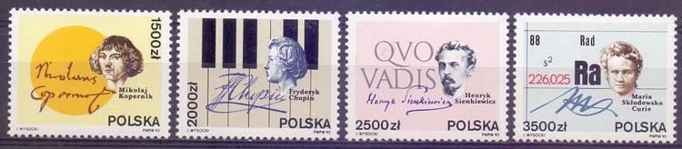 Polska 1992 Mi 3372-3375 Fi 3224-3227...