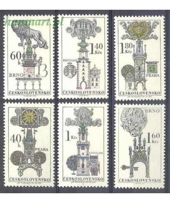 Czechosłowacja 1970 Mi 1952-1957 Czyste **