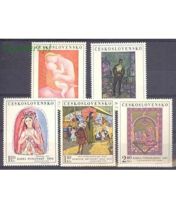 Czechosłowacja 1970 Mi 1965-1969 Czyste **