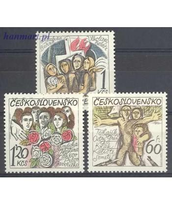 Czechosłowacja 1975 Mi 2245-2247 Czyste **