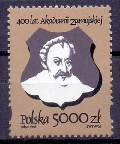 Polska 1994 Mi 3482 Fi 3334 Czyste **