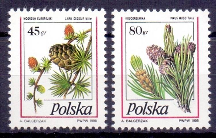 Polska 1995 Mi 3530-3531 Fi 3382-3383...