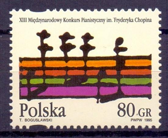 Polska 1995 Mi 3560 Fi 3412 Czyste **