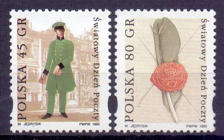 Polska 1995 Mi 3561-3562 Fi 3413-3414...