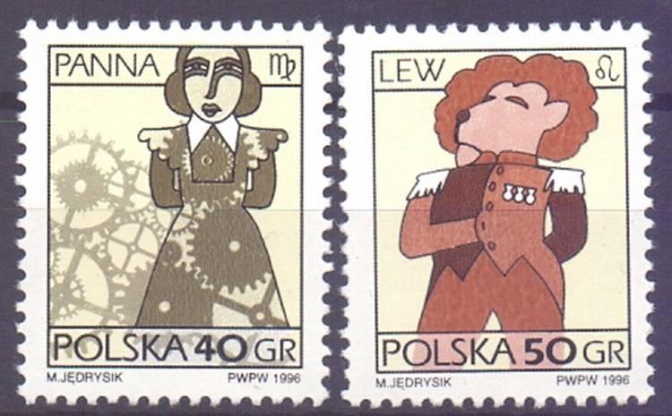 Polska 1996 Mi 3589-3590x Fi...
