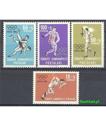 Turcja 1964 Mi 1924-1927 Czyste **