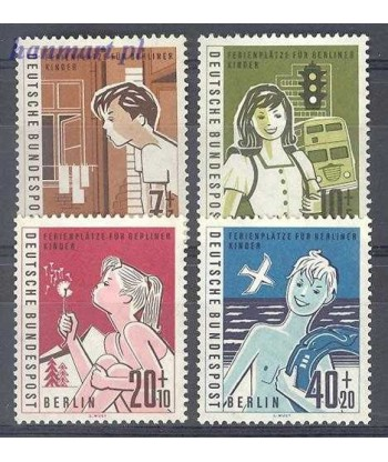 Berlin Niemcy 1960 Mi 193-196 Czyste **