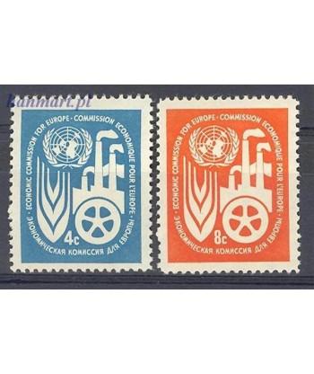 Narody Zjednoczone Nowy Jork 1959 Mi 78-79 Czyste **