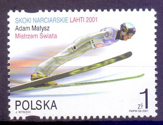 Poland 2001 Mi 3880 Fi 3730II MNH
