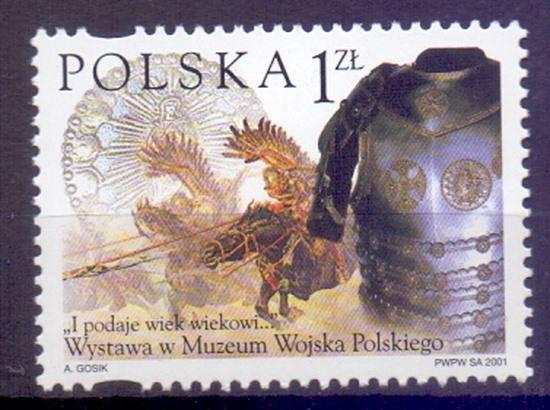 Polska 2001 Mi 3919 Fi 3769 Czyste **