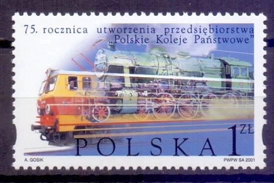 Polska 2001 Mi 3920 Fi 3770 Czyste **