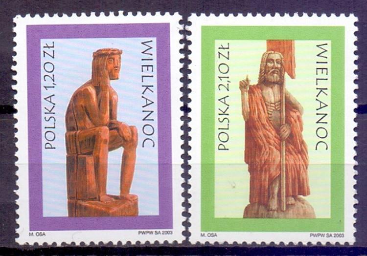 Polska 2003 Mi 4043-4044 Fi 3893-3894...