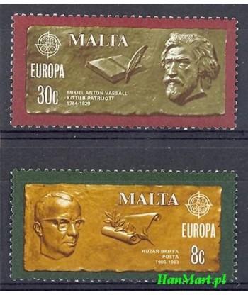 Malta 1980 Mi 615-616 Czyste **